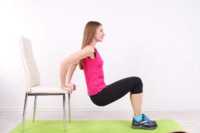 Ejercicios de fitness para practicar en casa