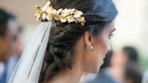 Tocados de novia, tendencias, colores y materiales