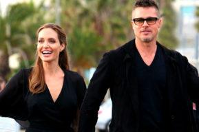 Angelina Jolie y Brad Pitt se divorcian ante un juez