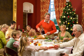 Navidad, un día para disfrutar en familia