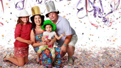 Ideas para un carnaval en familia