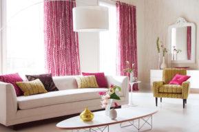 Primavera, decoración en tonos de rosa