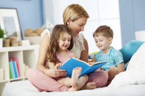 Los 5 beneficios de leer cuentos a los niños