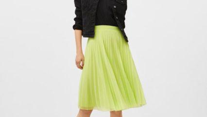 Faldas plisadas para combinar con todo
