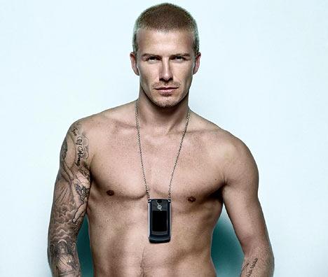 David Beckham desnudo